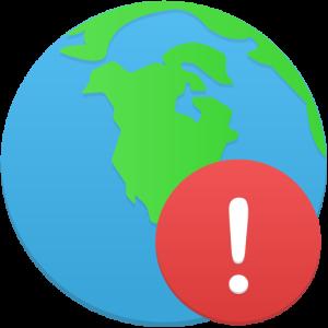 Globe-warning-icon